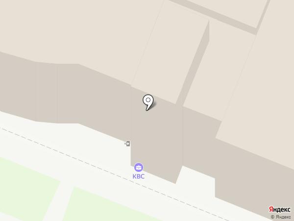 КВС на карте Санкт-Петербурга