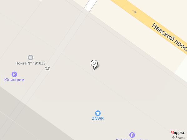 Cacharel на карте Санкт-Петербурга