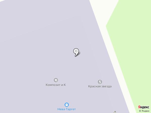 Хорс-Пейпер на карте Санкт-Петербурга