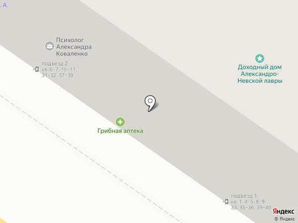 ДОРСТРОЙ на карте Санкт-Петербурга