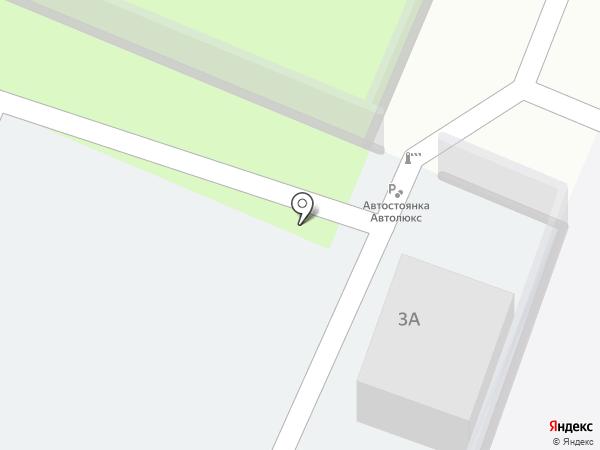 Автолюкс на карте Санкт-Петербурга