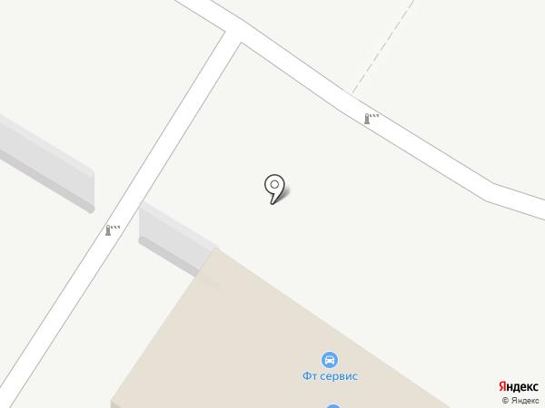ФТ-Сервис на карте Санкт-Петербурга