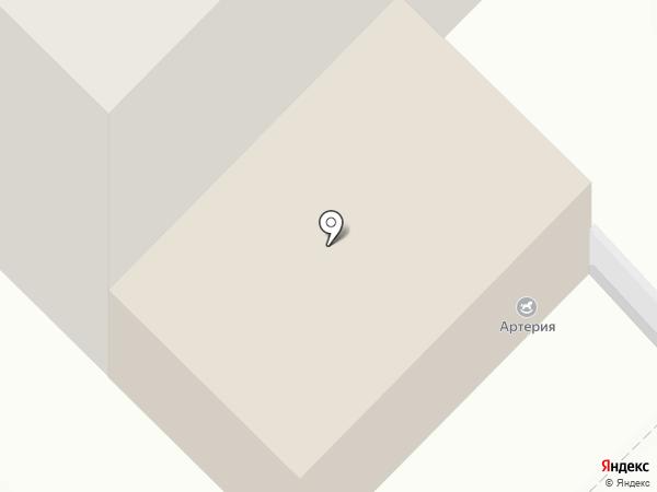 Артерия на карте Санкт-Петербурга