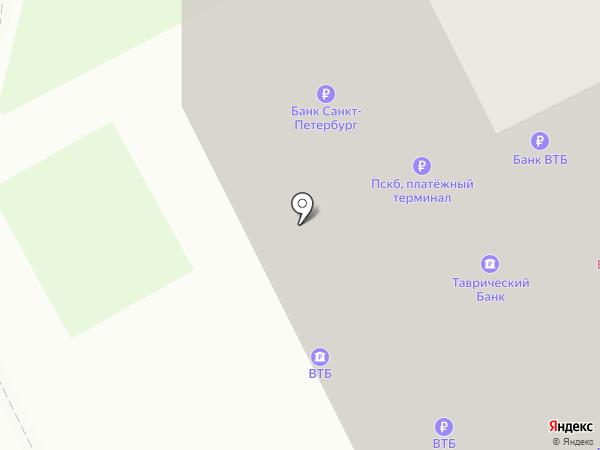 Банк ВТБ 24, ПАО на карте Санкт-Петербурга