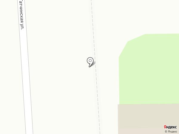 Продовольственный магазин на карте Коммунара