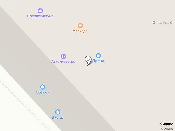 ExtazShop на карте Санкт-Петербурга