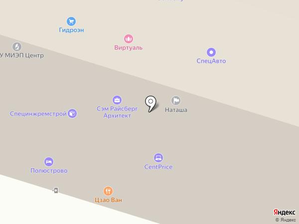 Гидроэн на карте Санкт-Петербурга