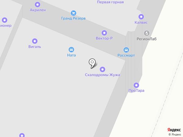 Автокреп на карте Санкт-Петербурга