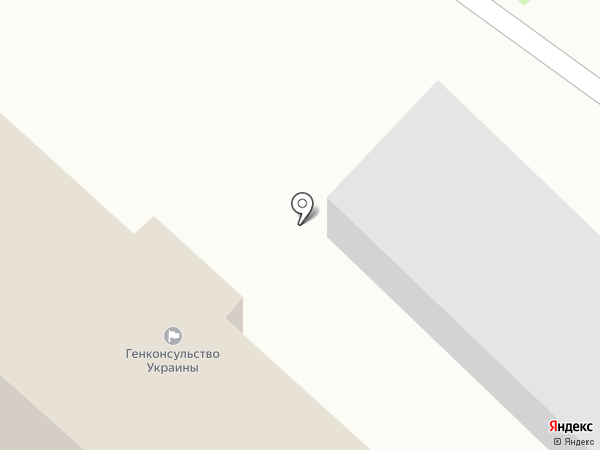 Генеральное консульство Украины в г. Санкт-Петербурге на карте Санкт-Петербурга