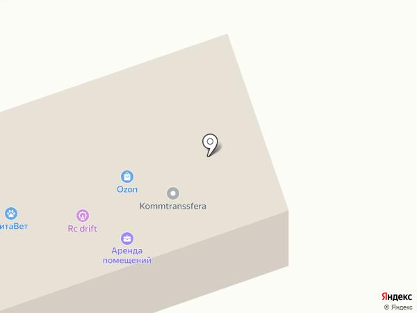 Теплотехника на карте Коммунара