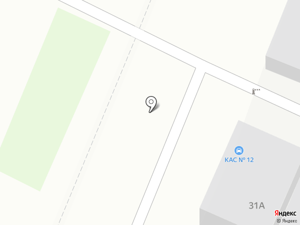 Коллективная автостоянка №12 на карте Санкт-Петербурга