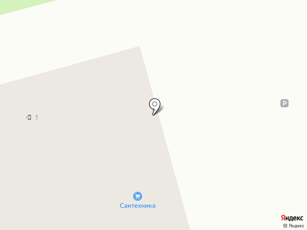 Магазин сантехники на карте Коммунара