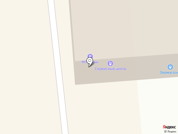 Магазин мяса на карте Коммунара