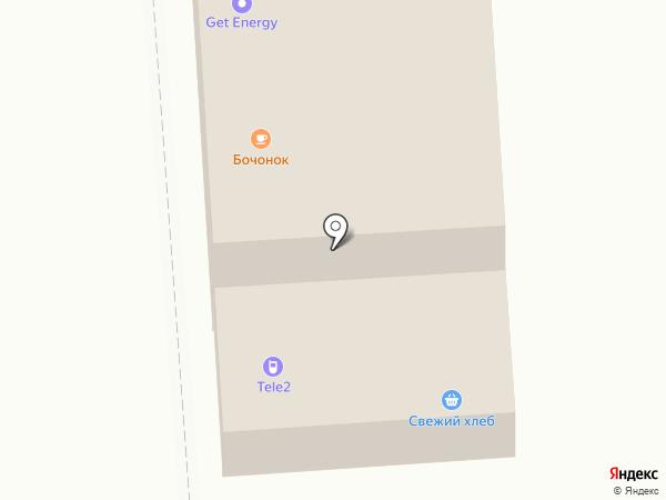 Магазин хлебобулочных изделий на карте Коммунара