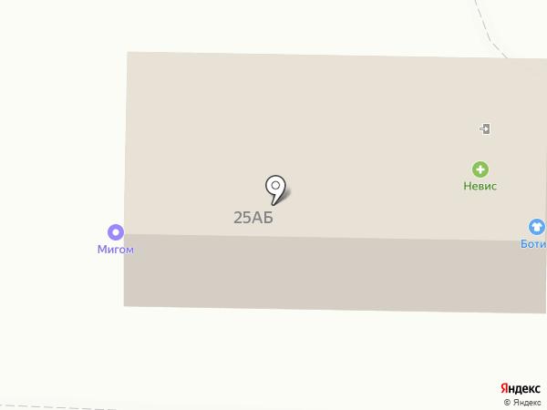 Магазин хлебобулочных изделий на Ленинградском шоссе на карте Коммунара