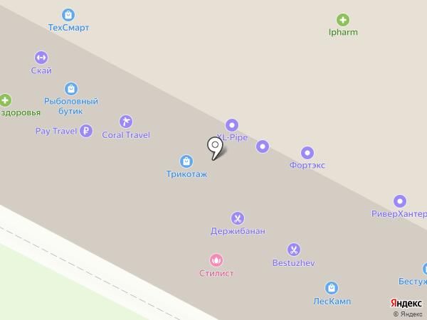 Мастерская дома на карте Санкт-Петербурга