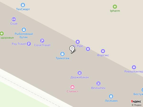 Фортэкс, ЗАО на карте Санкт-Петербурга