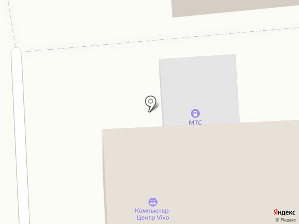 МТС на карте Коммунара