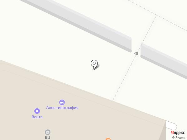 Алес на карте Санкт-Петербурга