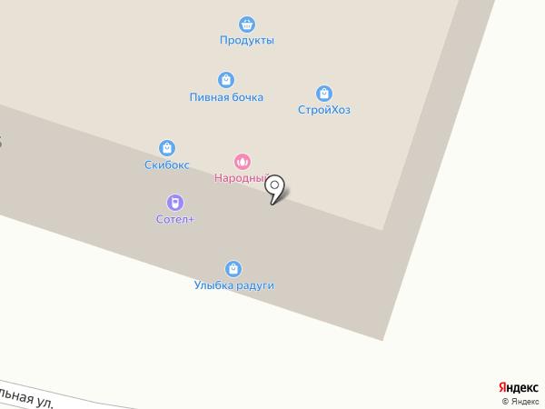 Платежный терминал, Петербургский социальный коммерческий банк на карте Бугров