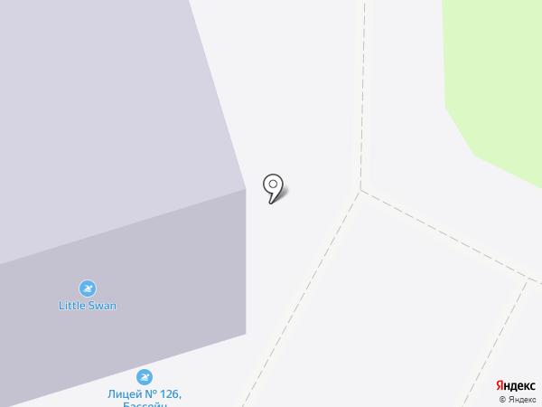 Лицей №126 на карте Санкт-Петербурга
