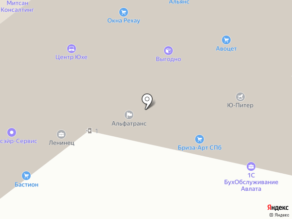 СпецКомплект на карте Санкт-Петербурга