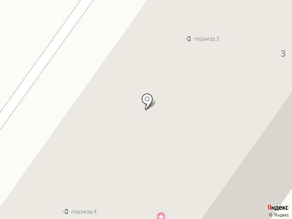 Магазин продуктов на карте Коммунара