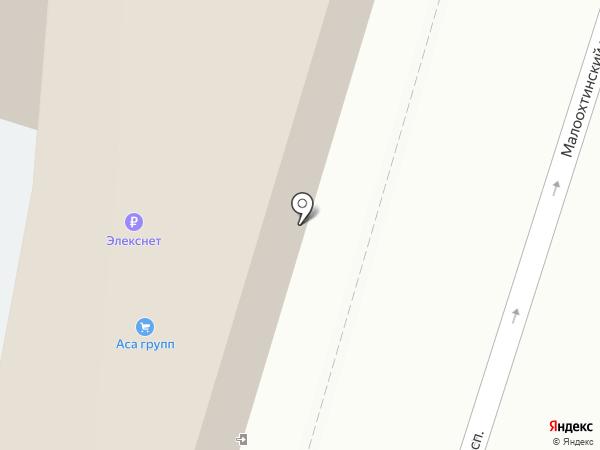 МАКС, ЗАО на карте Санкт-Петербурга
