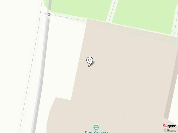 Всероссийский музей А.С. Пушкина на карте Санкт-Петербурга