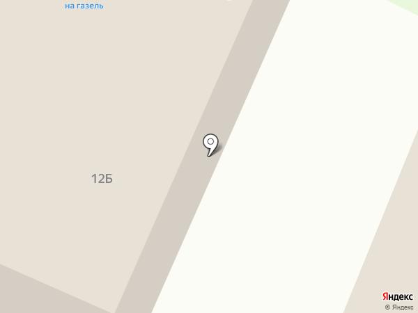 Магазин автотоваров на карте Санкт-Петербурга