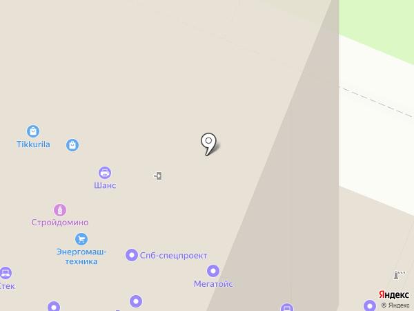 СпецПаркДизайн на карте Санкт-Петербурга