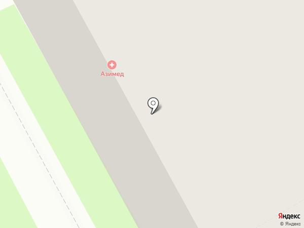Нева-Транзит, ЗАО на карте Санкт-Петербурга