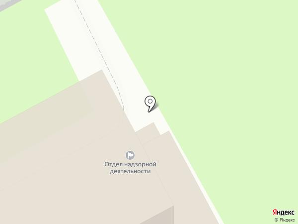 Отдел надзорной деятельности и профилактической работы Невского района на карте Санкт-Петербурга