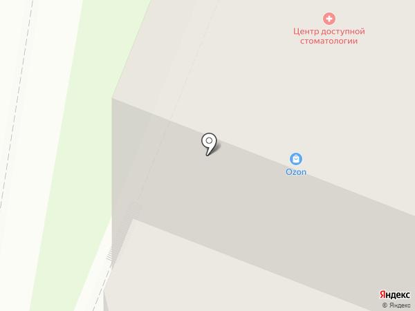 Азалия-Мед на карте Мурино
