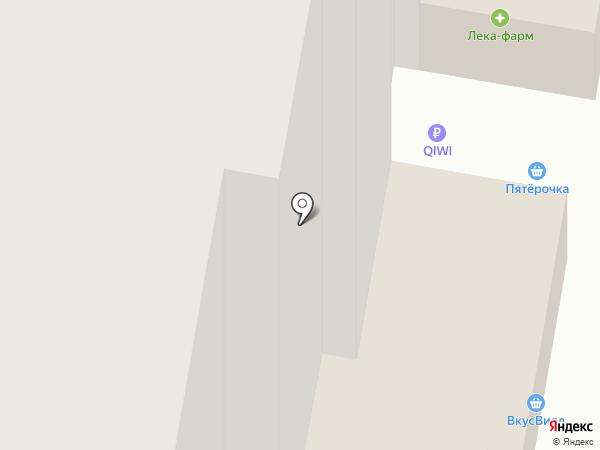 Пятёрочка на карте Бугров