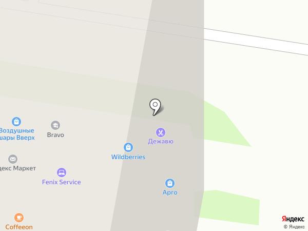 Новосёл на карте Мурино