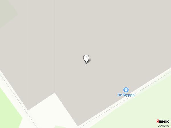 Ле`Муррр на карте Мурино