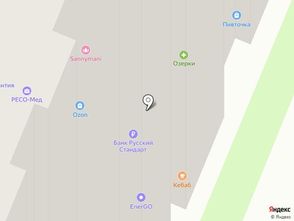 Платежный терминал на карте Мурино