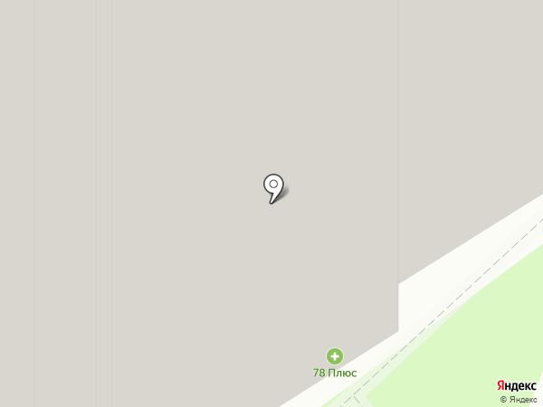 Буханка на карте Мурино