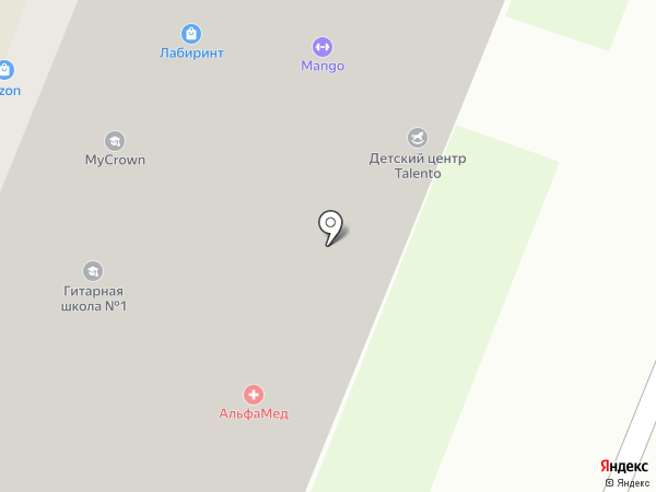 Talento на карте Мурино