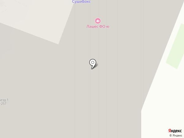 Суши-Сет на карте Мурино
