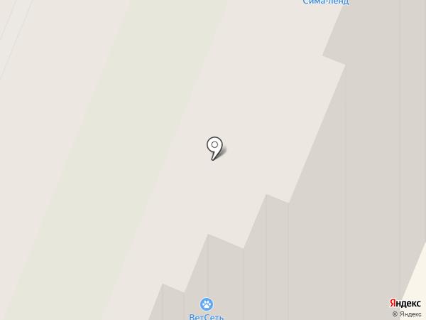 Норманн на карте Мурино