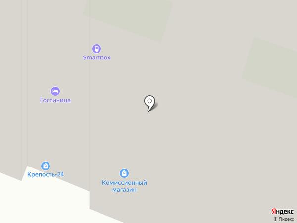 Компас Здоровья на карте Мурино