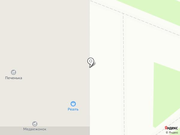 Реалъ на карте Мурино