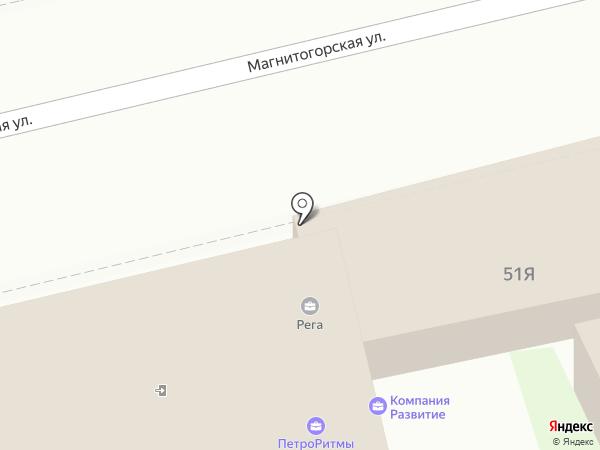 КемУглеСбыт на карте Санкт-Петербурга