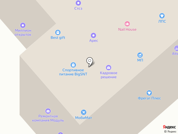 ТИМРУС на карте Санкт-Петербурга