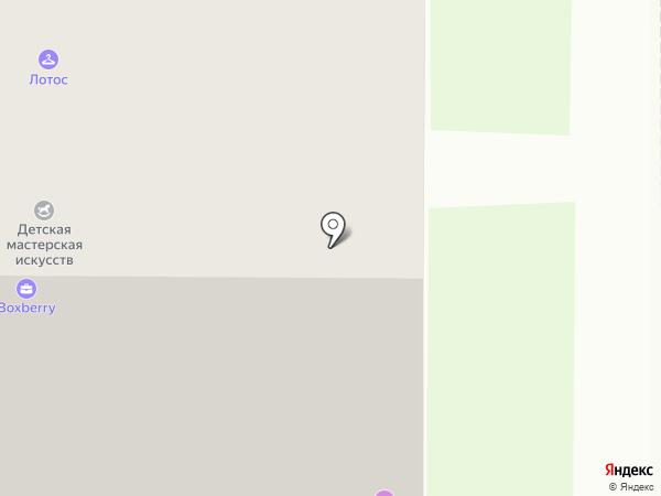 Семейная парикмахерская на карте Мурино