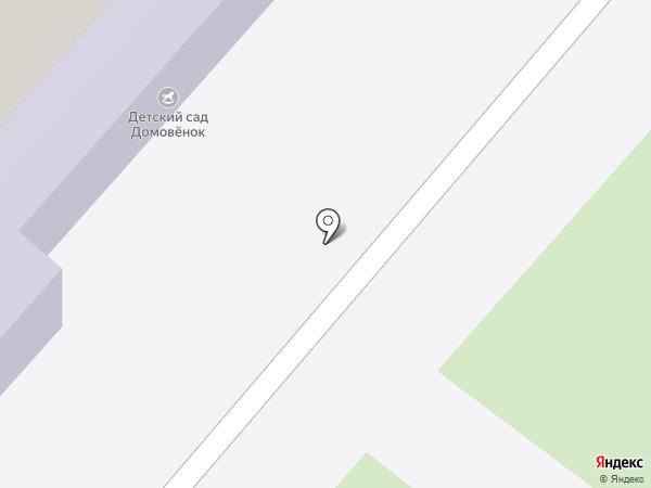 Дверной очаг на карте Мурино