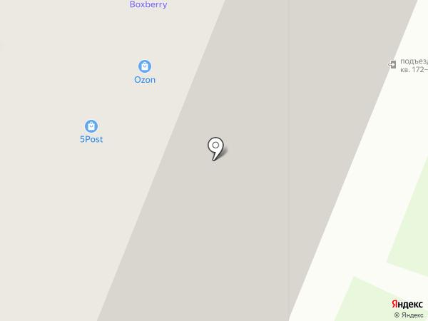 Сокол на карте Мурино