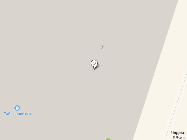 Subway на карте Мурино